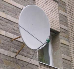 Спутниковая тарелка для платформа HD