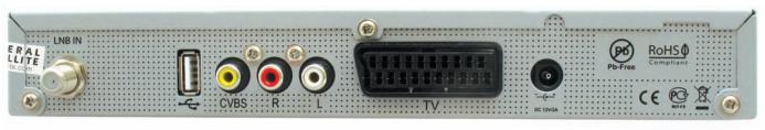 gs8304 задняя панель