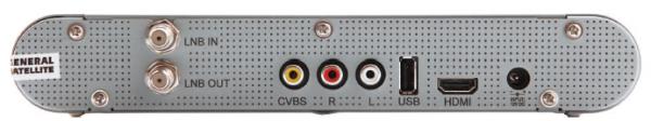 gs-8306 задняя панель